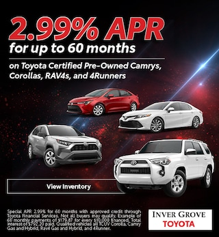 2.99% APR for up to 60 months