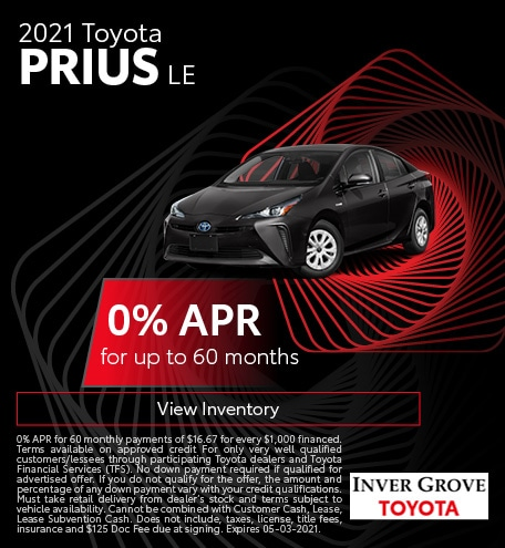 2021 Toyota Prius LE March