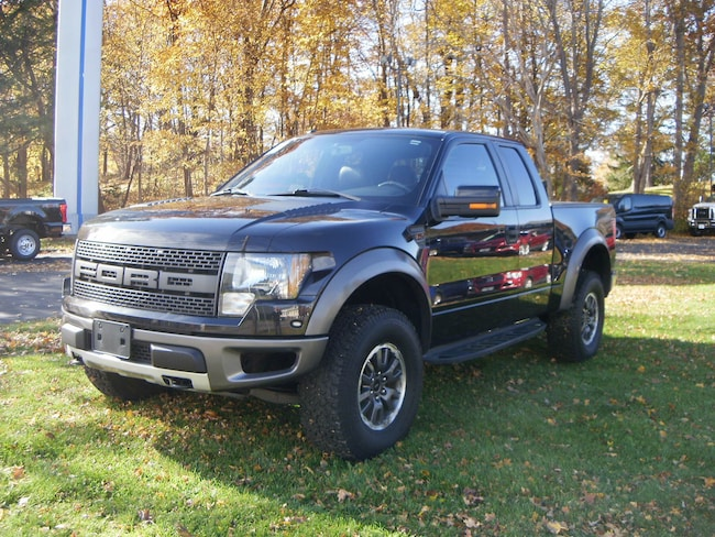 2010 Ford F-150 SVT Raptor Extended Cab Short Bed Truck