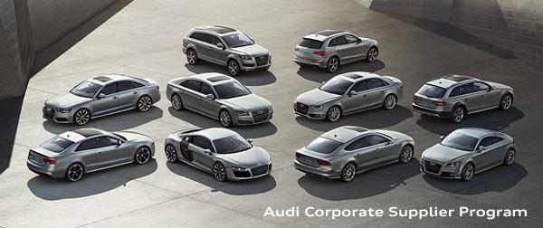 Audi Corporate Supplier Program Peabody MA | Audi Peabody
