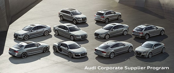 Audi Corporate Supplier Program Peabody MA | Audi Peabody