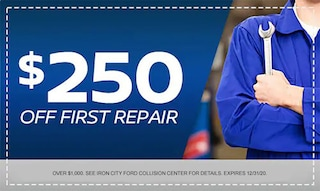 $250 Off First Repair