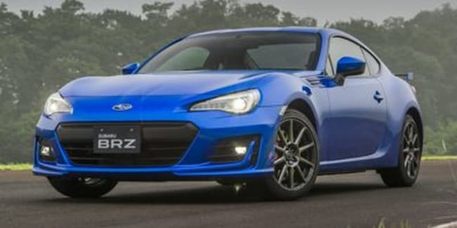 2019 Subaru BRZ Sport Tech Rs Sedan