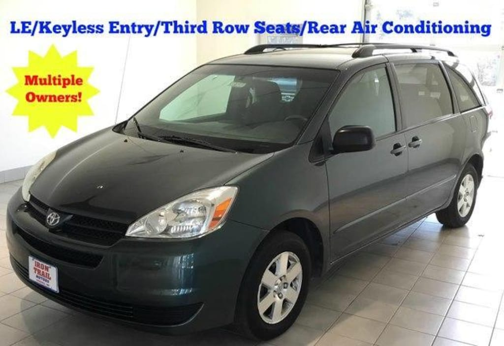 Used 2005 Toyota Sienna For Sale at Iron Trail Motors   VIN