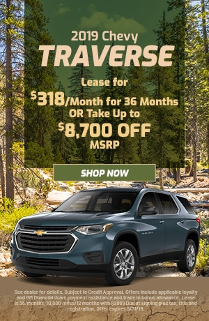 2019 Chevy Traverse - May