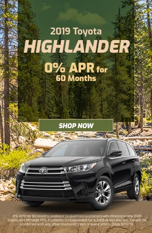2019 Toyota Highlander - May