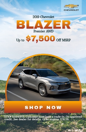 2019 Chevrolet Blazer - July Offer