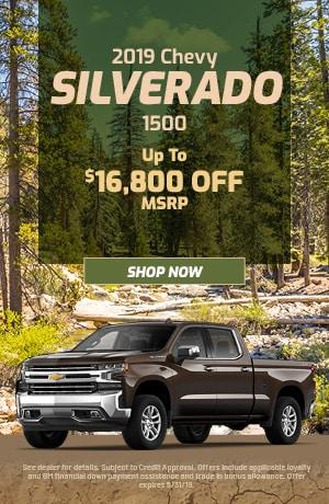 2019 Chevy Silverado 1500 MSRP - May