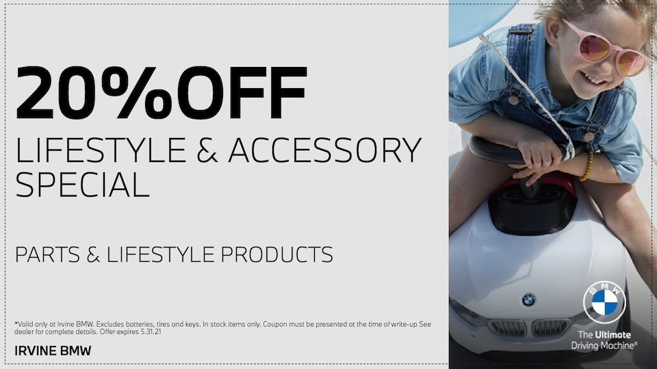 20% OFF Lifestyle & Accessories