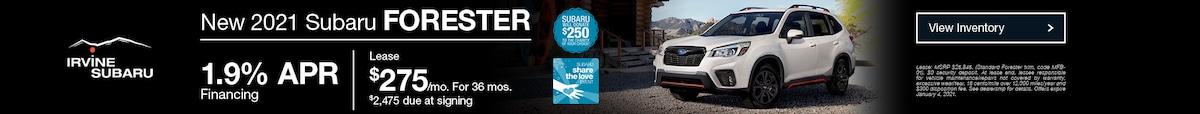 December 2021 Subaru Forester