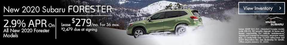 January New 2020 Subaru Forester Offers