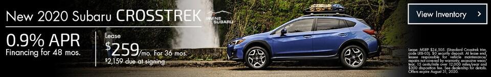 August New 2020 Subaru Crosstrek Offers