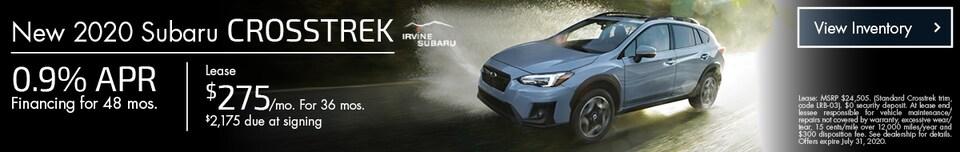 July New 2020 Subaru Crosstrek Offers