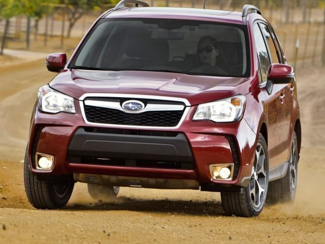 Test Drive A Forester