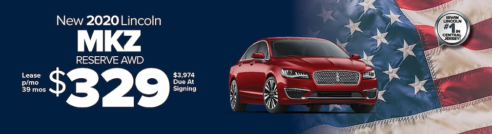 Lease A New 2020 Lincoln MKZ Reserve AWD For