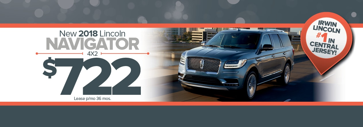 New Lincoln Navigator Special Irwin Lincoln Freehold