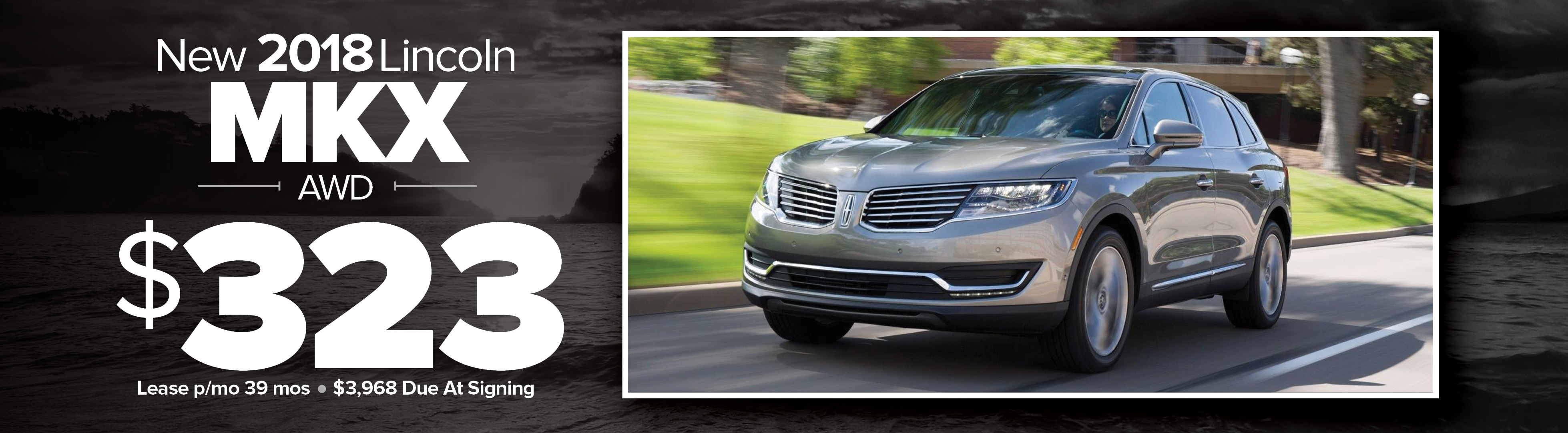 lease ads lincoln mkx sl azrm