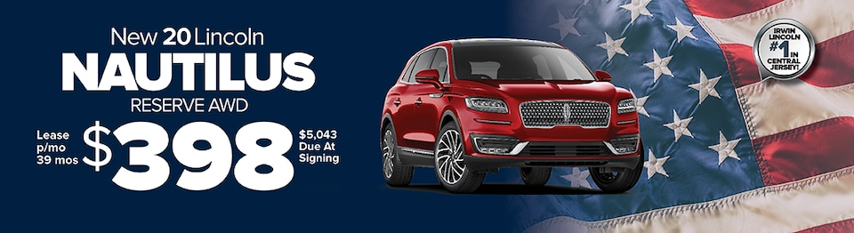 Lease A New 2020 Lincoln Nautilus Reserve AWD For