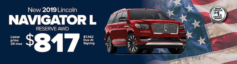 Lease A New 2019 Lincoln Navigator L Reserve 4x4 For
