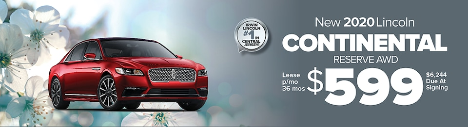 LEASE A NEW 2020 LINCOLN CONTINENTAL RESERVE AWD FOR