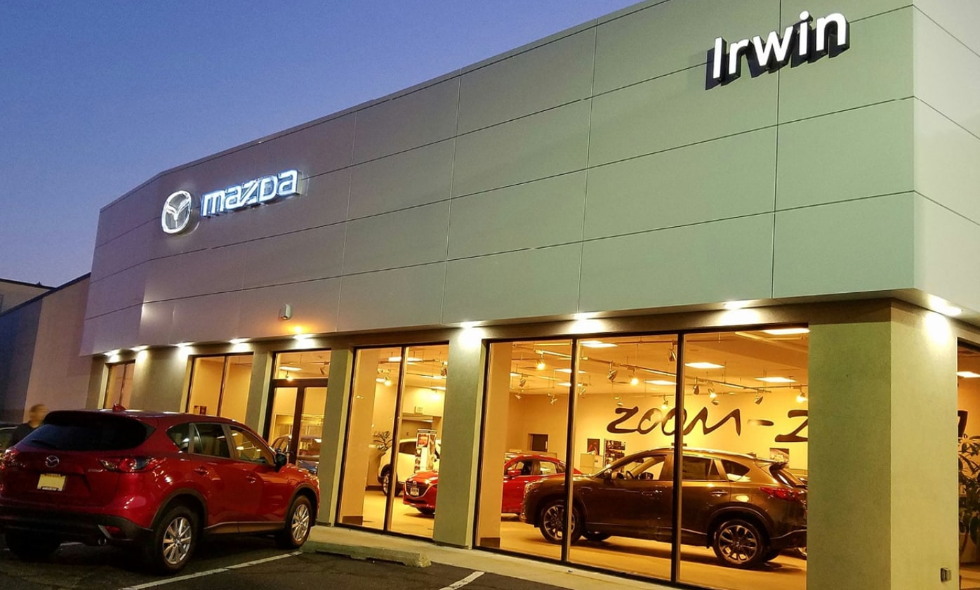 irwin mazda new mazda dealership in freehold nj 07728. Black Bedroom Furniture Sets. Home Design Ideas