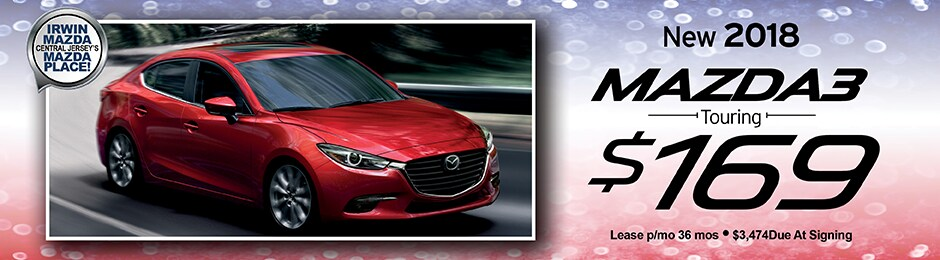 New 2018 Mazda3 Touring Special Offer | Irwin Mazda | NJ Mazda Dealer
