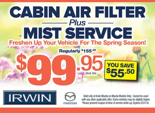 Service Specials | Irwin Mazda | NJ Mazda Dealer