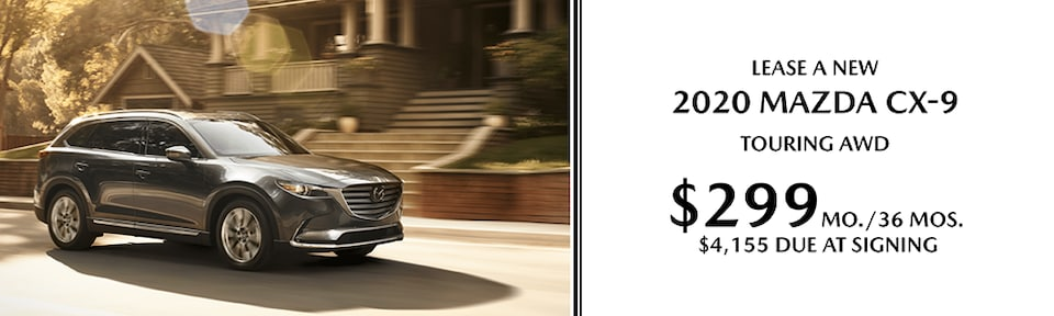 Lease A New 2020 MAZDA CX-9 Touring AWD