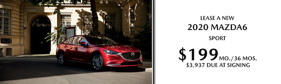 Lease A New 2020 MAZDA6 Sport