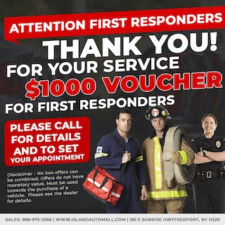 First Responders: Thank You for Your Service