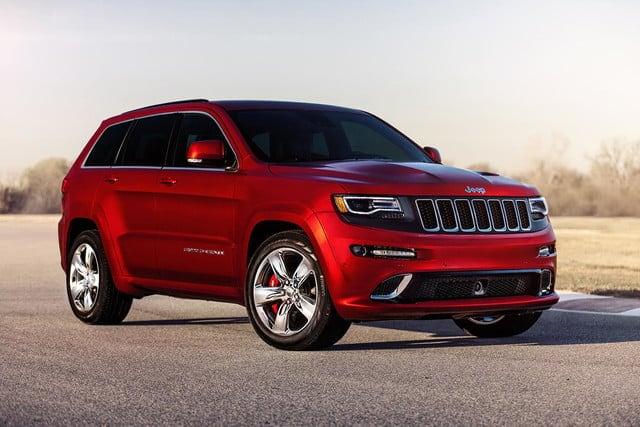 Red Pre-Owned Jeep Grand Cherokee
