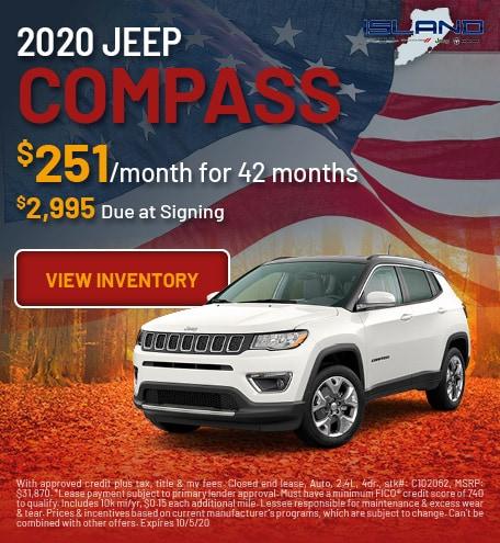 September 2020 Jeep Compass