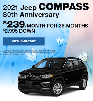 April 2021 Jeep Compass 80th Anniversary