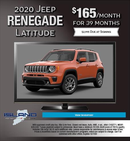 Updated November 2020 Jeep Renegade