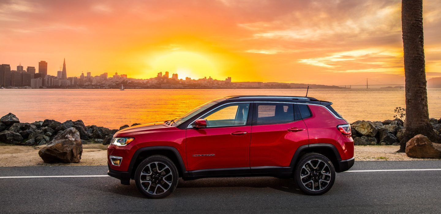 Red Jeep Compass Staten Island New York