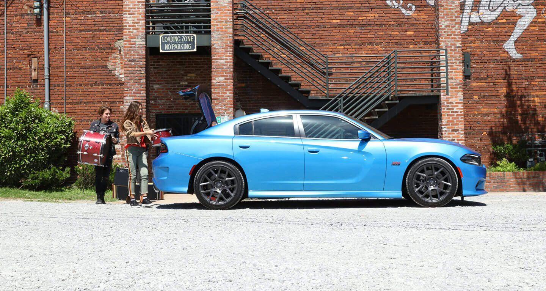 2019 Blue Dodge Charger