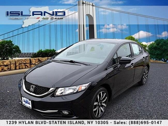 Used 2015 Honda Civic Sedan EX-L Sedan in Staten Island