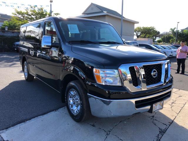 Used 2016 Nissan NV Passenger NV3500 HD Van SV V6 Super Black For