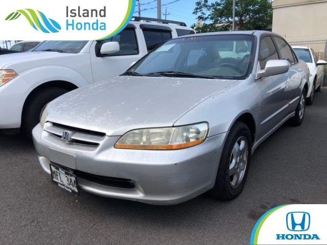 Charming Used 1999 Honda Accord Sedan EX V6 Silver For Sale In Kahului HI | Stock:  XA042688