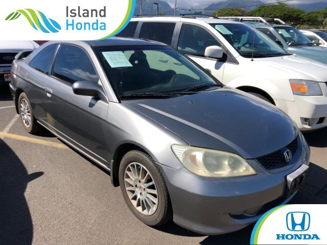 Used 2005 Honda Civic Coupe Ex Special Edition Magnesium For Sale In