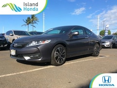 Certified Pre-Owned 2016 Honda Accord EX-L Coupe Kahului, HI