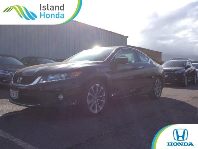 Used 2015 Honda Accord Coupe EX L V 6 Black For Sale In Kahului HI | Stock:  FA007150A
