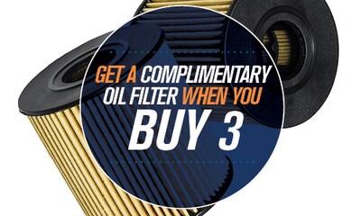 Buy 3 Oil Filters at Regular Price Get One Free