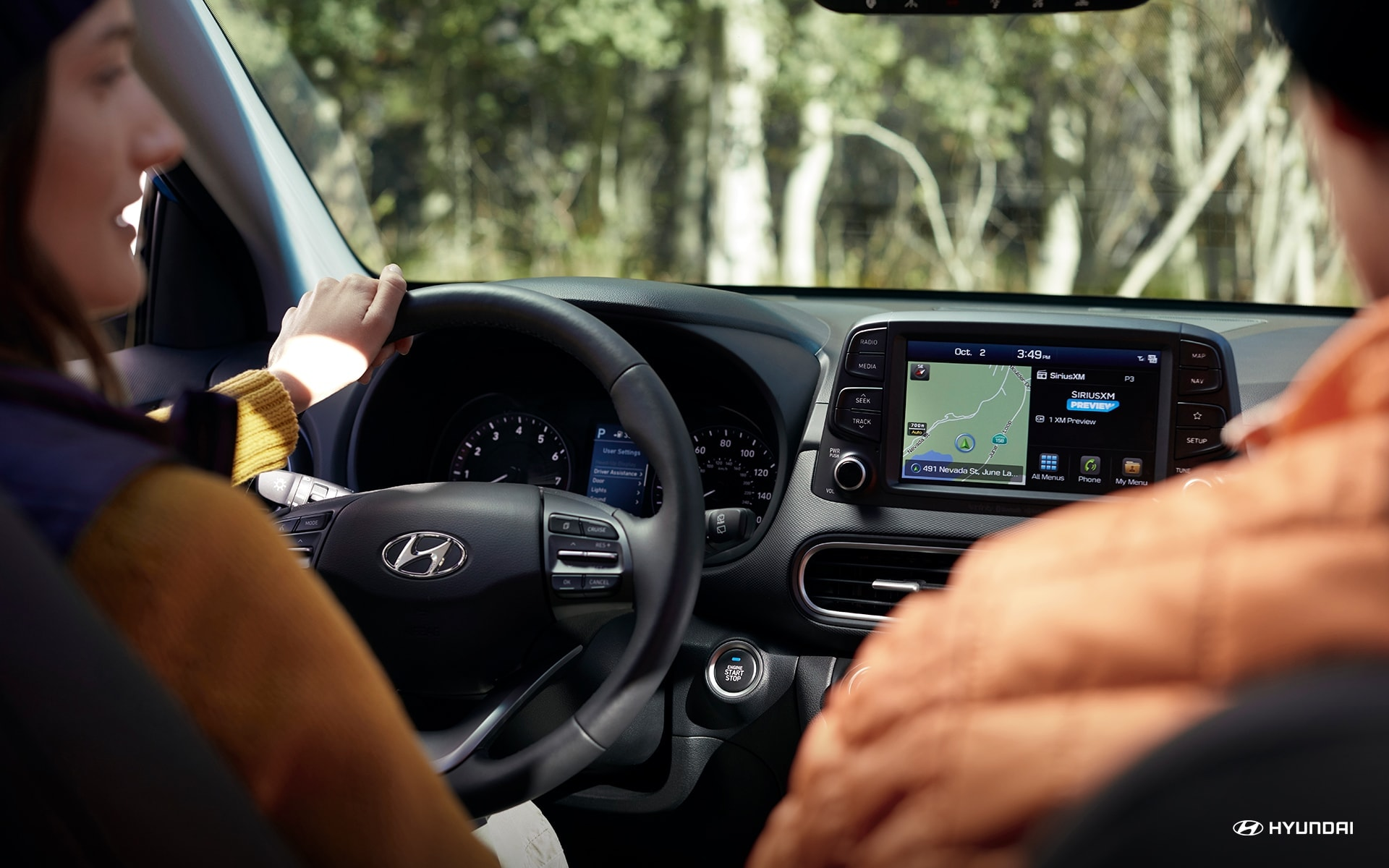 2019 Hyundai Kona Interior Dashboard