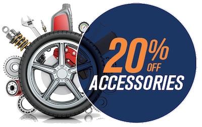 20% OFF ACCESSORIES