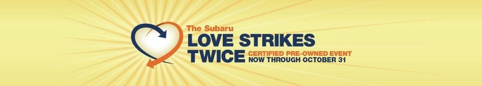 Subaru Love Strikes Twice Event