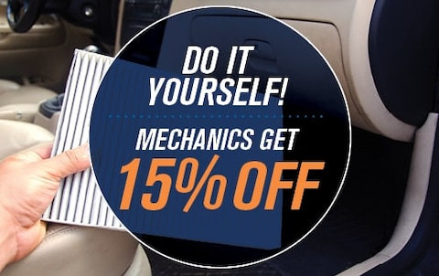 Do It Yourself! Mechanics Get 15% OFF!