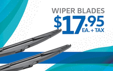Wiper Blades $17.95 Each