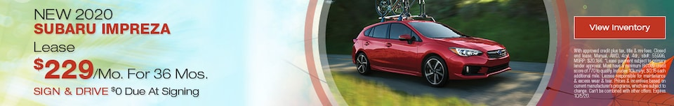 Mid-September 2020 Kia Impreza