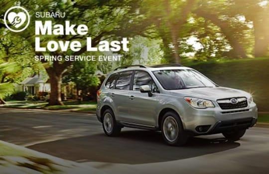 NY Subaru Dealership Spring Service Event